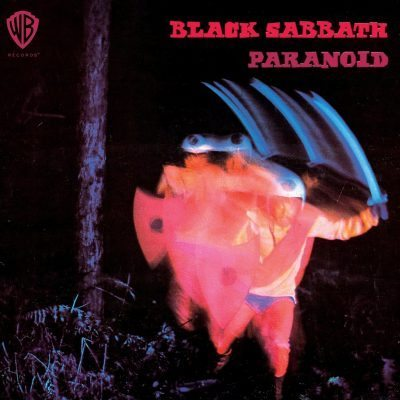Black Sabbath Paranoid album cover ghostcultmag