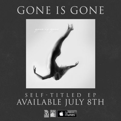 Gone Is Gone promo album cover ad ghostcultmag
