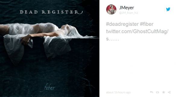 JMeyer Dead Register winning contest entry