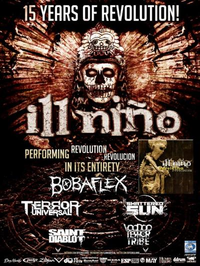 Ill Nino 15 Years of Revolution ghostcultmag