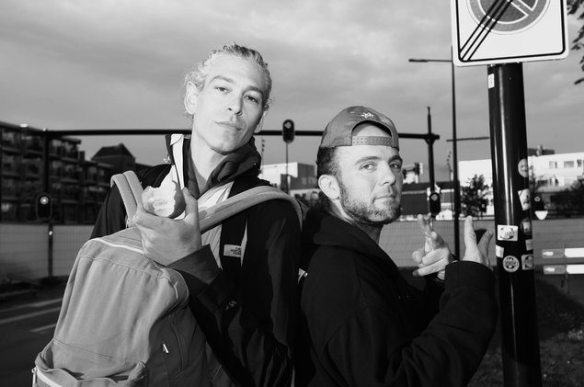 Kosha Dillz and Matisyahu. Photo credit by Ed Jansen