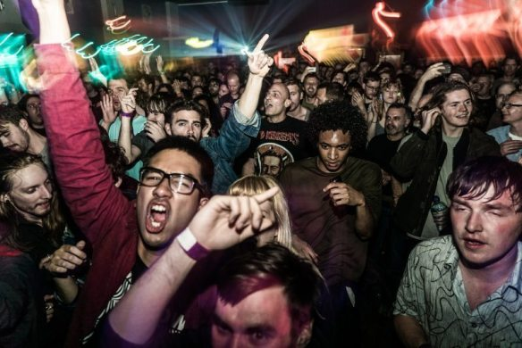 the crowd at The Dome in London, photo credit Raw Power Festival