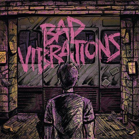 A Day To Remember Bad Vibrations album cover ghostcultmag