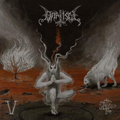 Baptism – V The Devil's Fire album cover ghostcultmag
