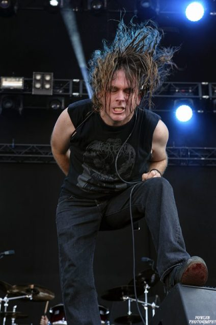 Cattle Decapitation, by TJ Fowler