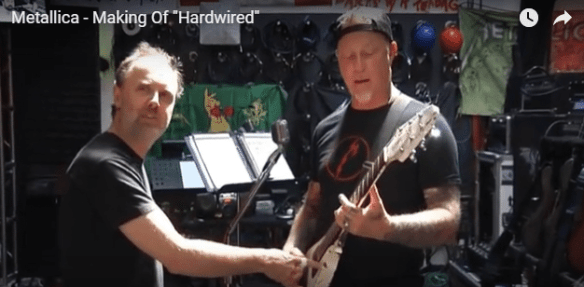 Metallica Hardwired behind the scenes still image ghostcultmag