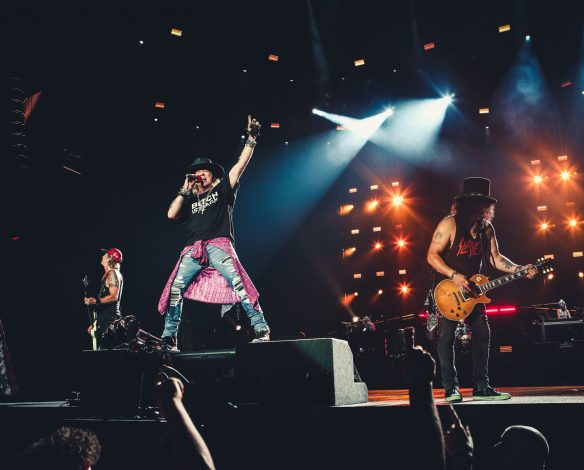 Guns N Roses. Photo credit: Katarina Benzova