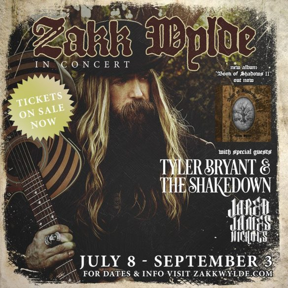zakk wylde summer us tour 2016 ghostcultmag