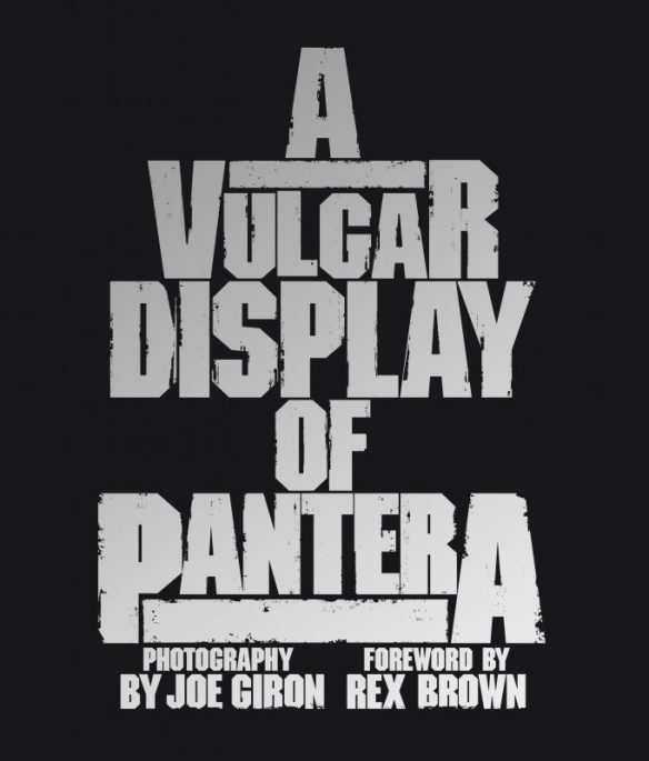 A Vulgar Display of Pantera book cover ghostcultmag