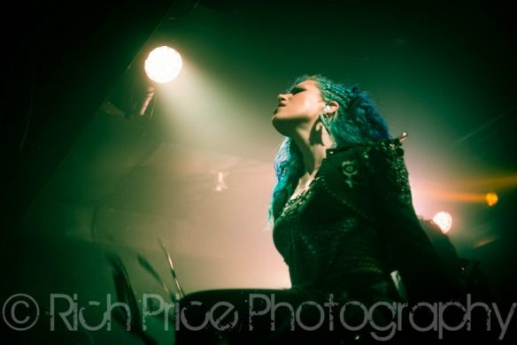 Alissa White-Gluz, by Rich Price Photography