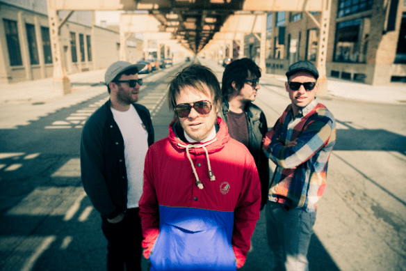 Enter Shikari, photo credit by Thomas Pullen