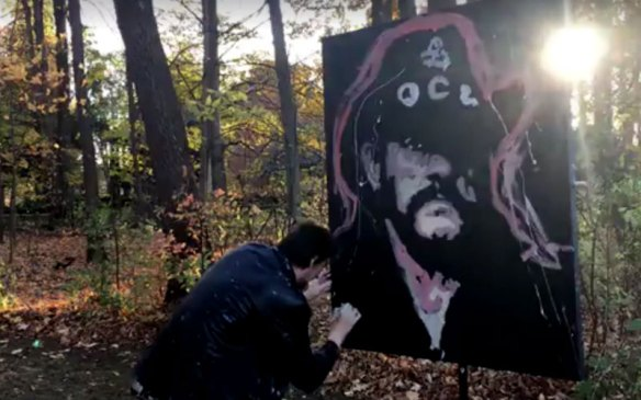 lemmy-tribute-painting