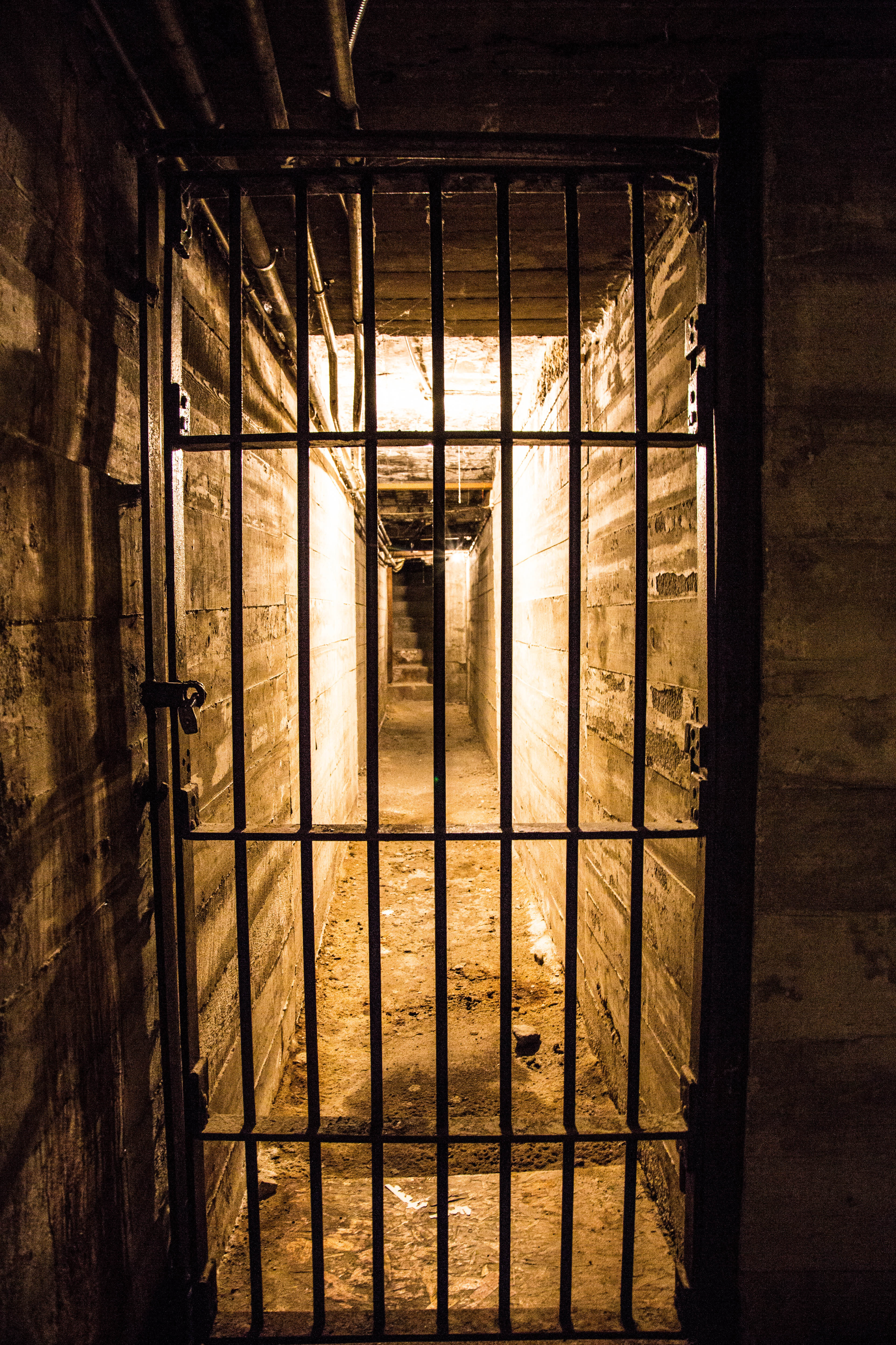 Old Montana Prison Tunnel