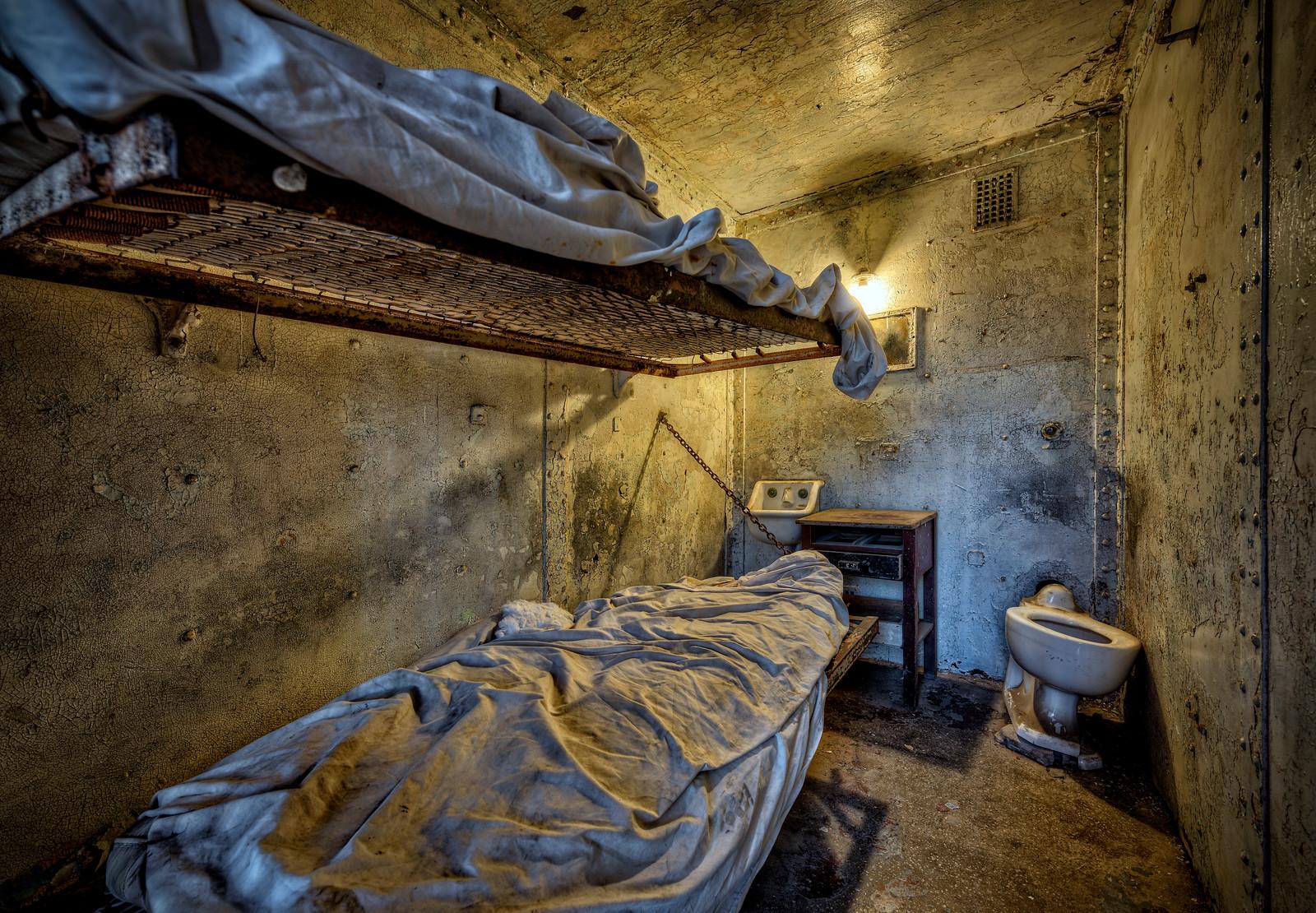 Ohio State Reformatory bunks