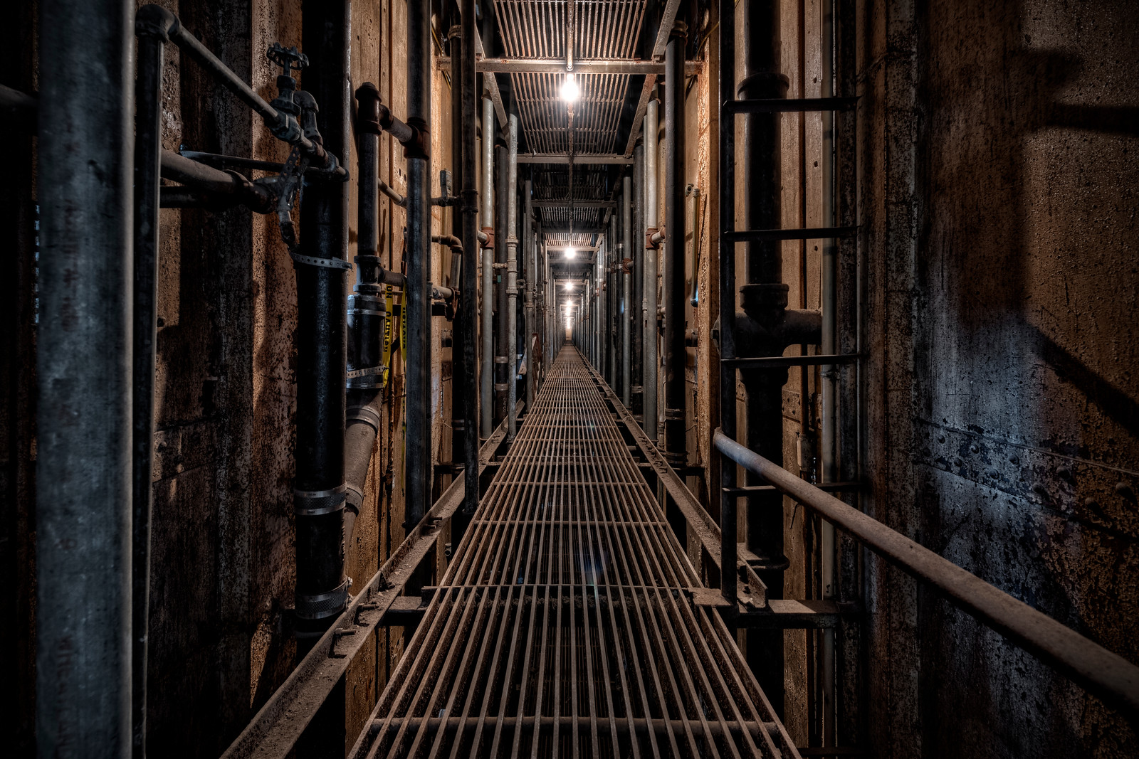 Ohio State Reformatory cell walkway