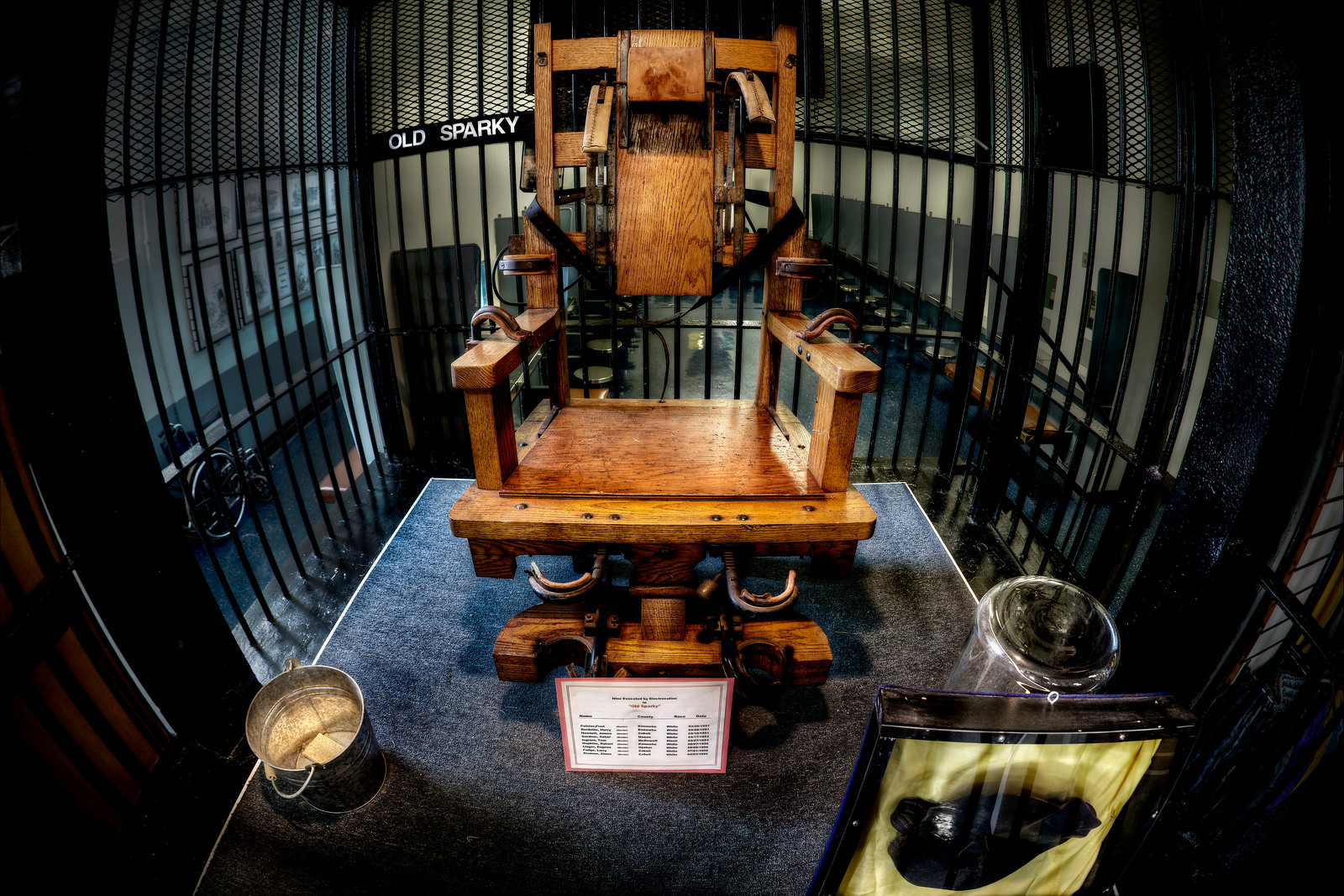 West Virginia Penitentiary Electric Chair