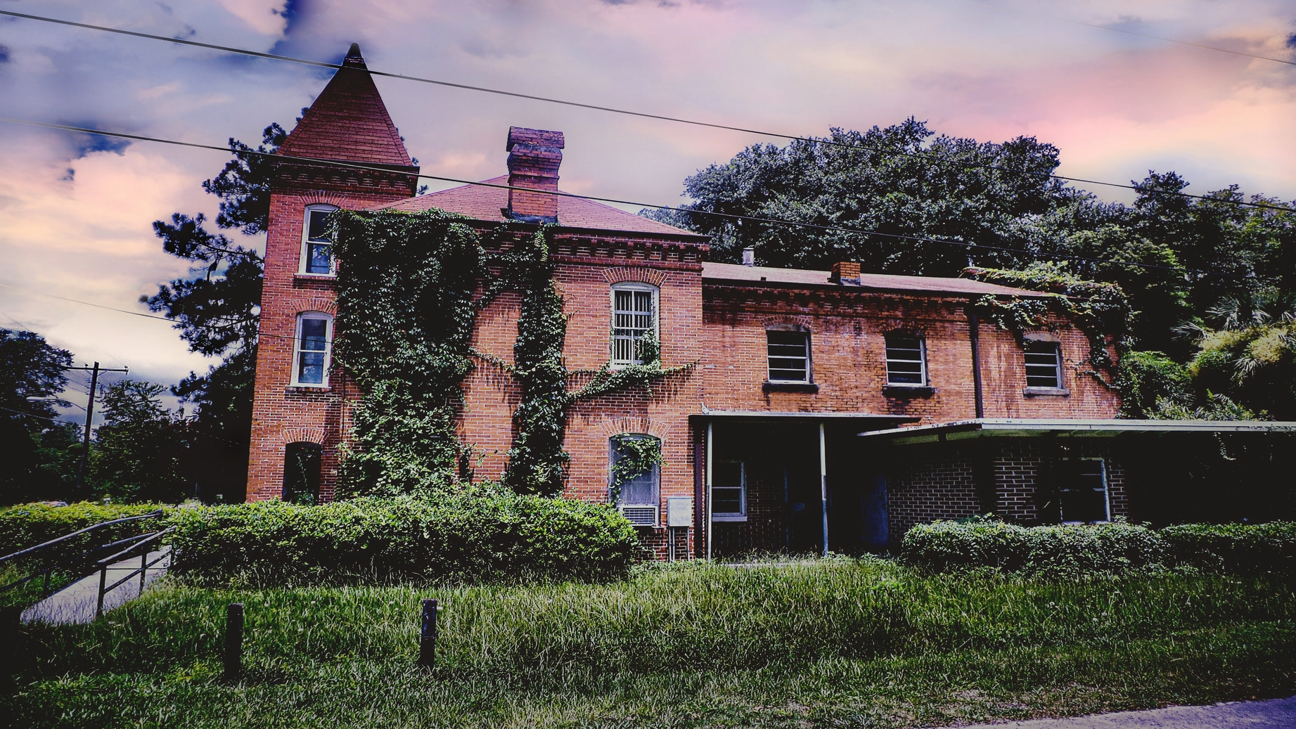 Old Hamilton County Jail Ghost Hunt | Jasper,  Florida