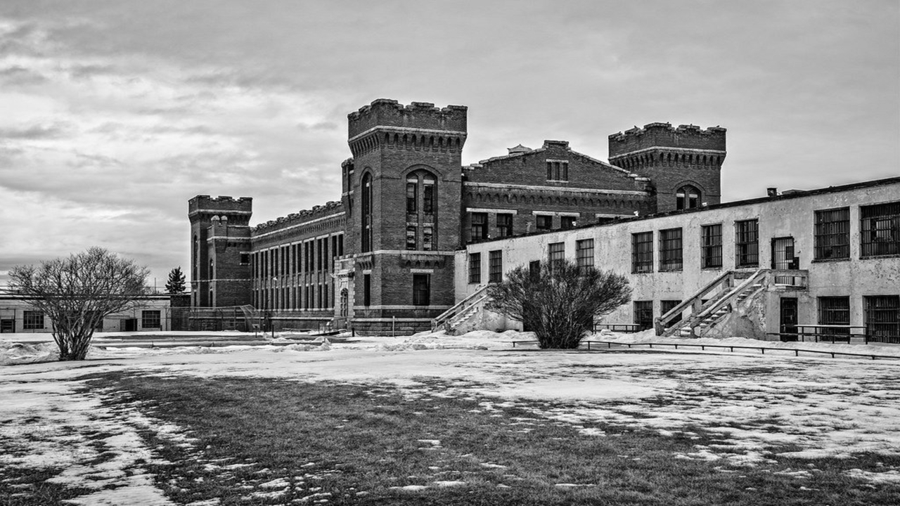 Old Montana State Prison Ghost Hunt |  Deer Lodge, Montana