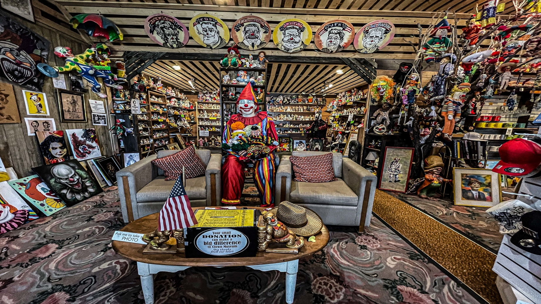 Haunted Clown Motel Ghost Hunt