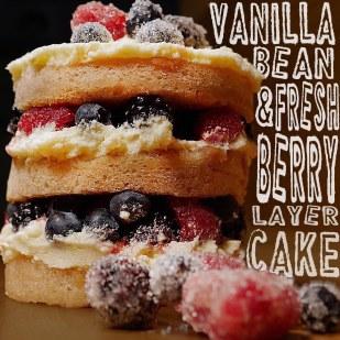 Vanilla Bean & Fresh Berries