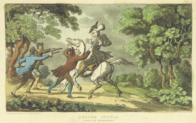 Highwayman and Doctor Syntax