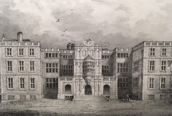 View of Bramshill from George Prosser Select Illustrations of Hampshire (1834-39) Rare Books Cope quarto 91.5