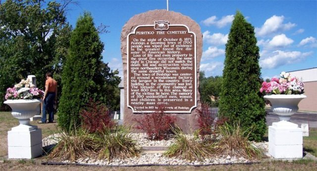 Peshtigo Fire Memorial and Mass Grave