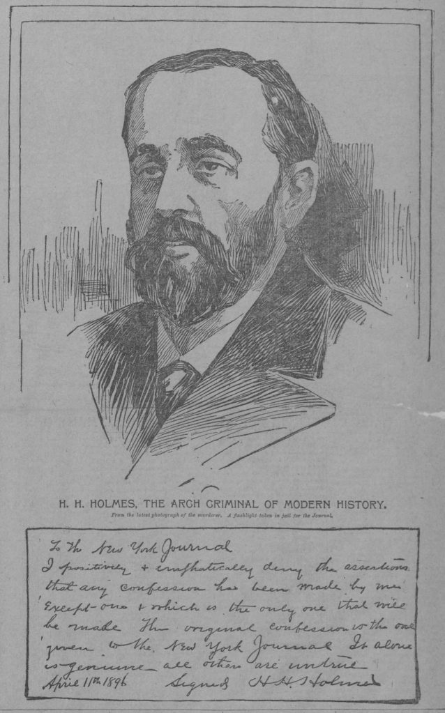 Confession of H. H. Holmes