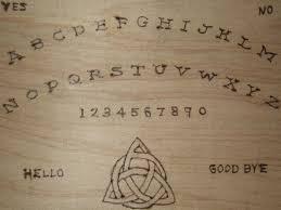Homemade Ouija Board