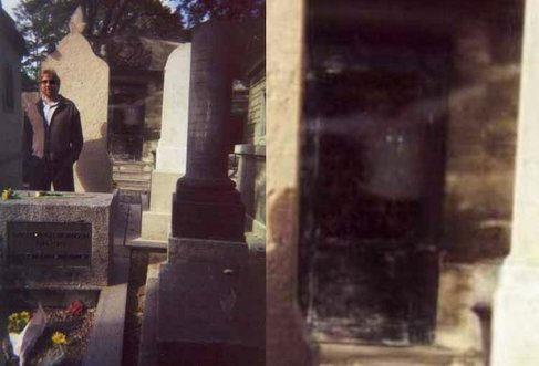 Jim Morrison's Grave Ghost Image