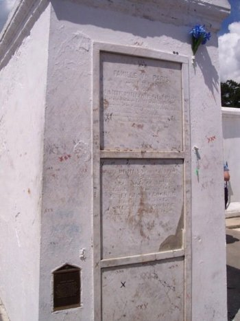 Marie Laveau's Tomb Photo by Patrick Harrington
