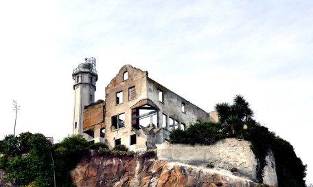 Warden's House (Alcatraz Island). Photo by Bernard Spragg