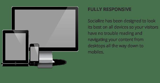Socialize: Multi-Purpose BuddyPress Theme 5