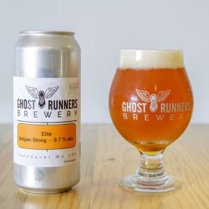 Ghost Runners Beer - Elite Belgian Strong