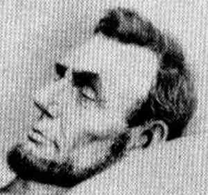 Abraham Lincoln Image After Being Assassinated