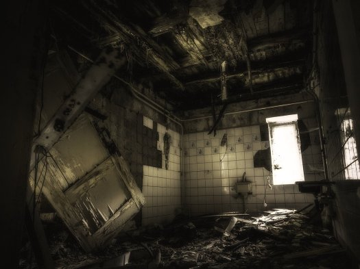 Haunted House Interior