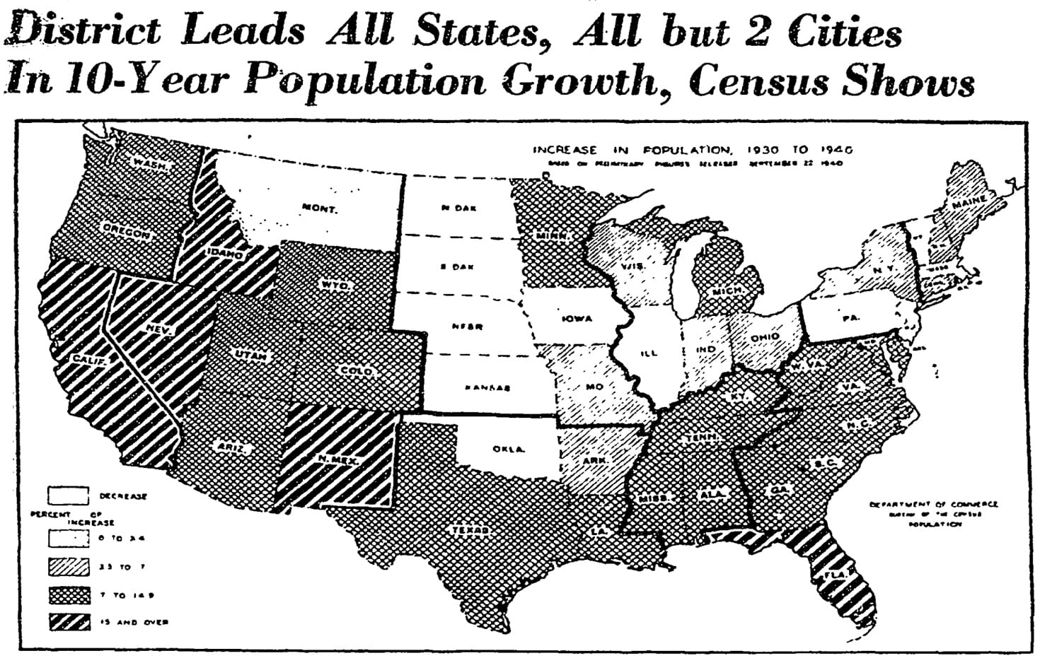 Map Of Census Growth