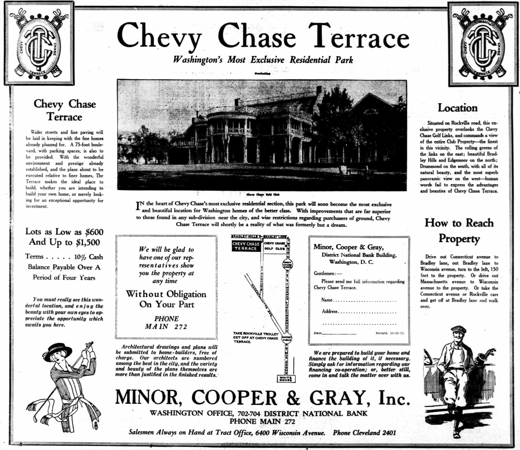 Chevy Chase Terrace: Washington's Most Exclusive