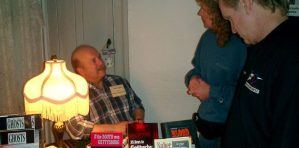 Mark at Ghosts of Gettysburg book Signing event