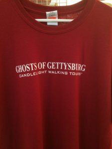 "Ghosts of Gettysburg ""Get an Afterlife"" t-shirt"