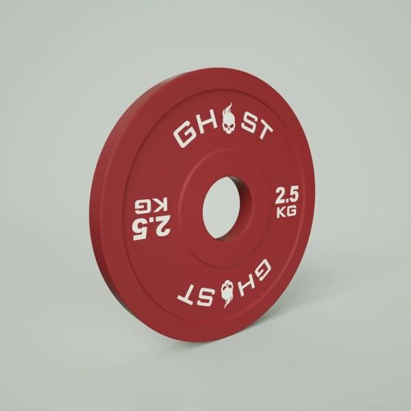 2.5KG Ghost Bumper Plates