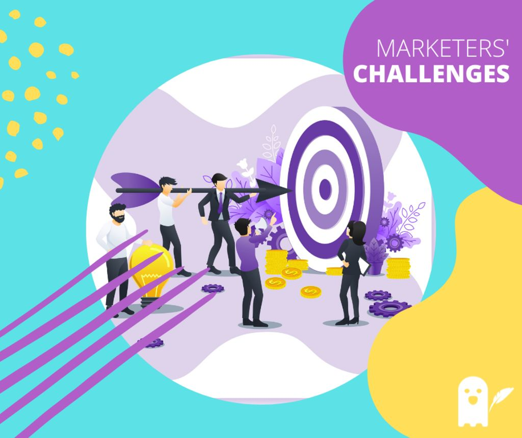marketers' challenges