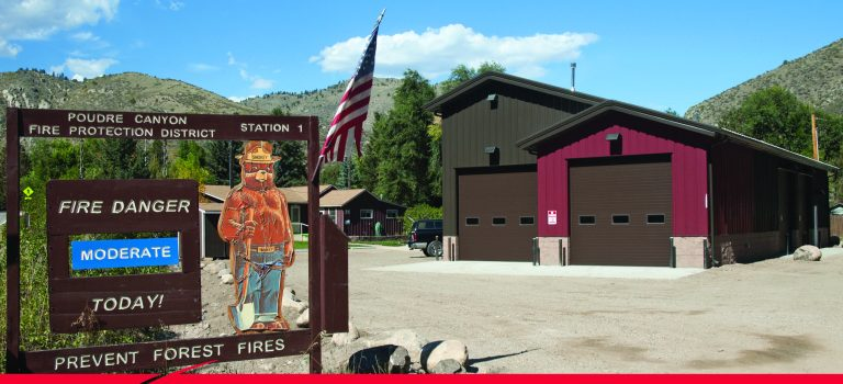 Lower Poudre Canyon Fire Station