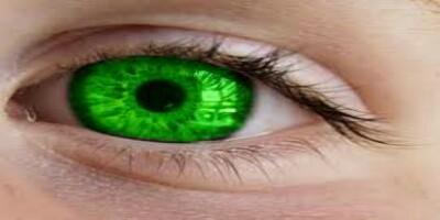 تغير لون العين بالعقل لباطن