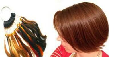 طريقة صبغ الشعر