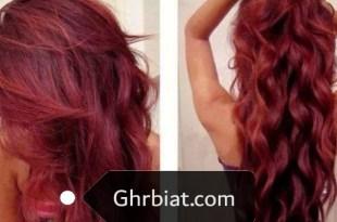 صبغة شعر احمر كرزي