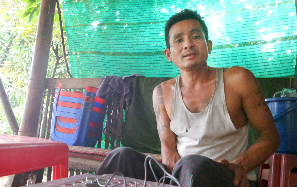 Visiting a friend with HIV in Myanmar
