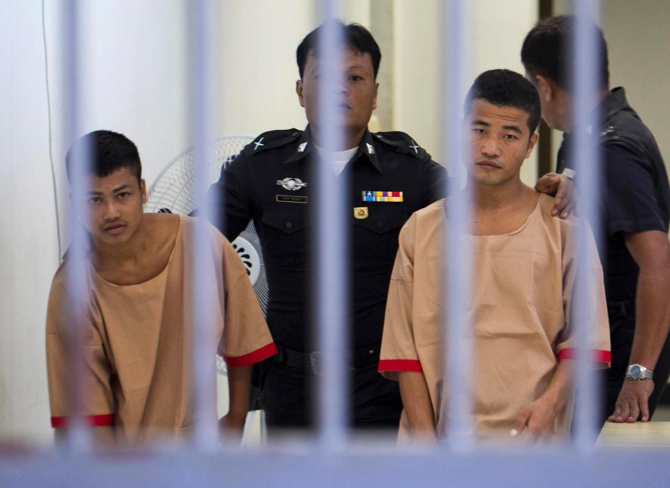 Death Penalty Upholds For Koh Tao Murders