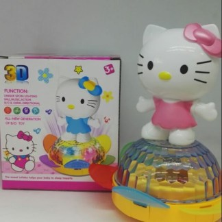 Hello Kitty Doll and Turtle with Music and 3D Light