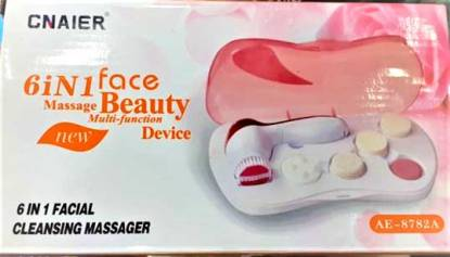 6 in 1 Facial Cleansing Message by CNAIER AE-8782A